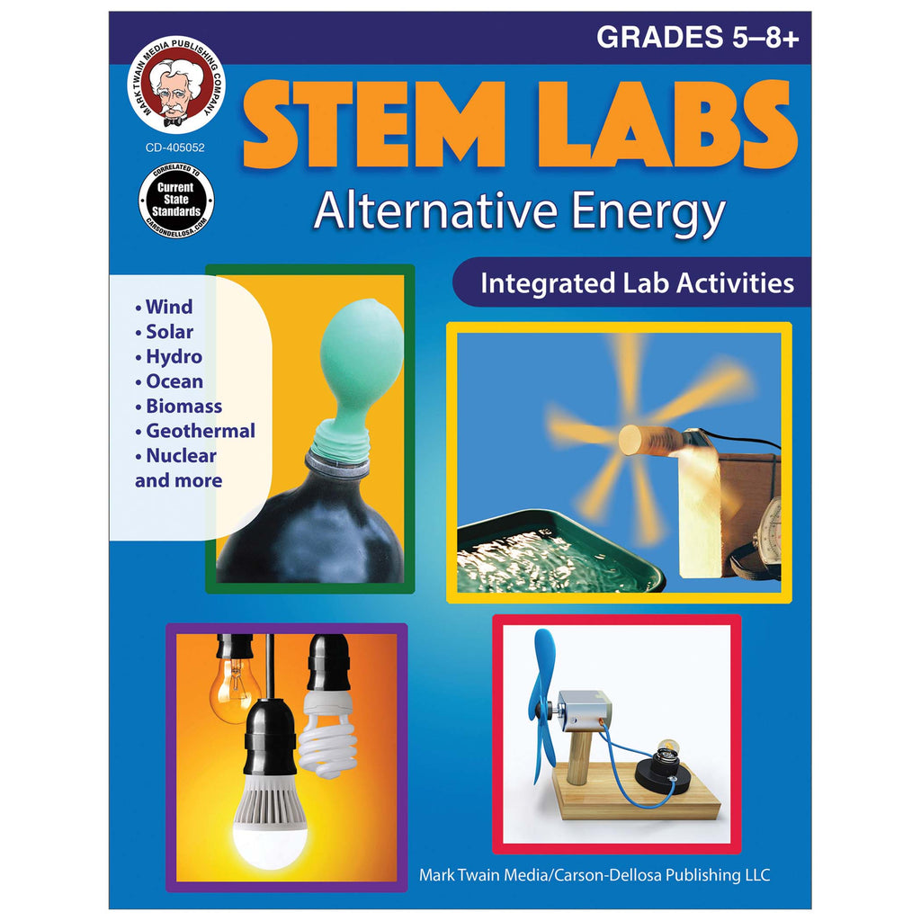 Alternative Energy Workbook Gr 5-8+ Stem Labs