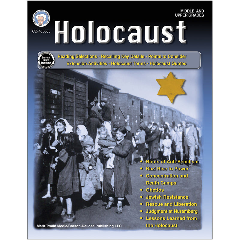 Holocaust Workbook Grades 6   12
