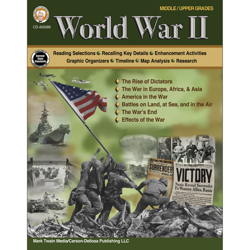 World War Ii Workbook Grades 6   12