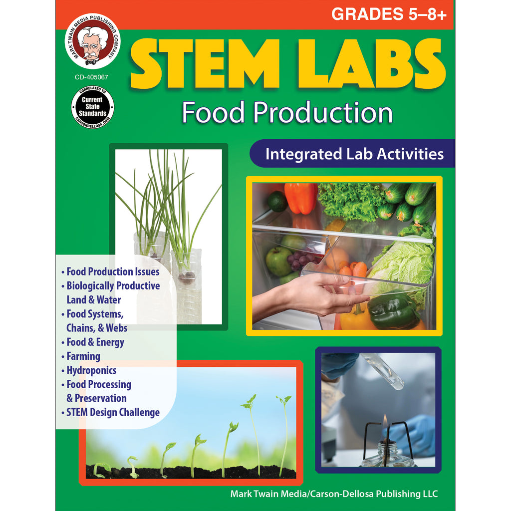Food Production Workbook Gr 5-12 Stem Labs