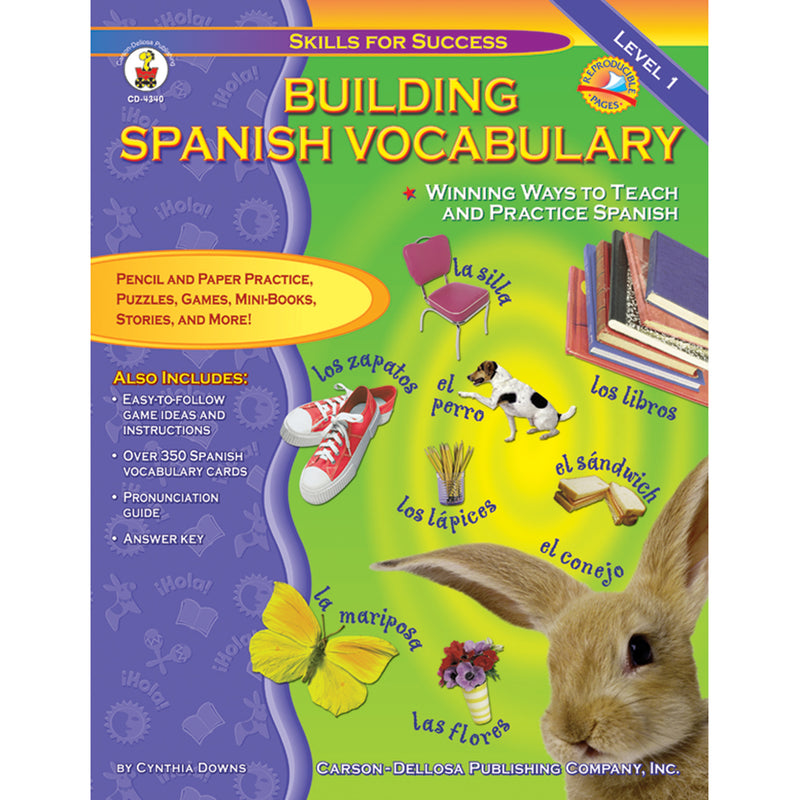 Building Spanish Vocabulary Gr Pk-12