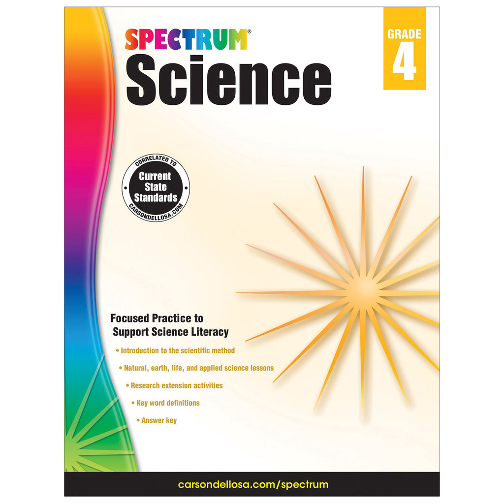 Spectrum Science Gr 4