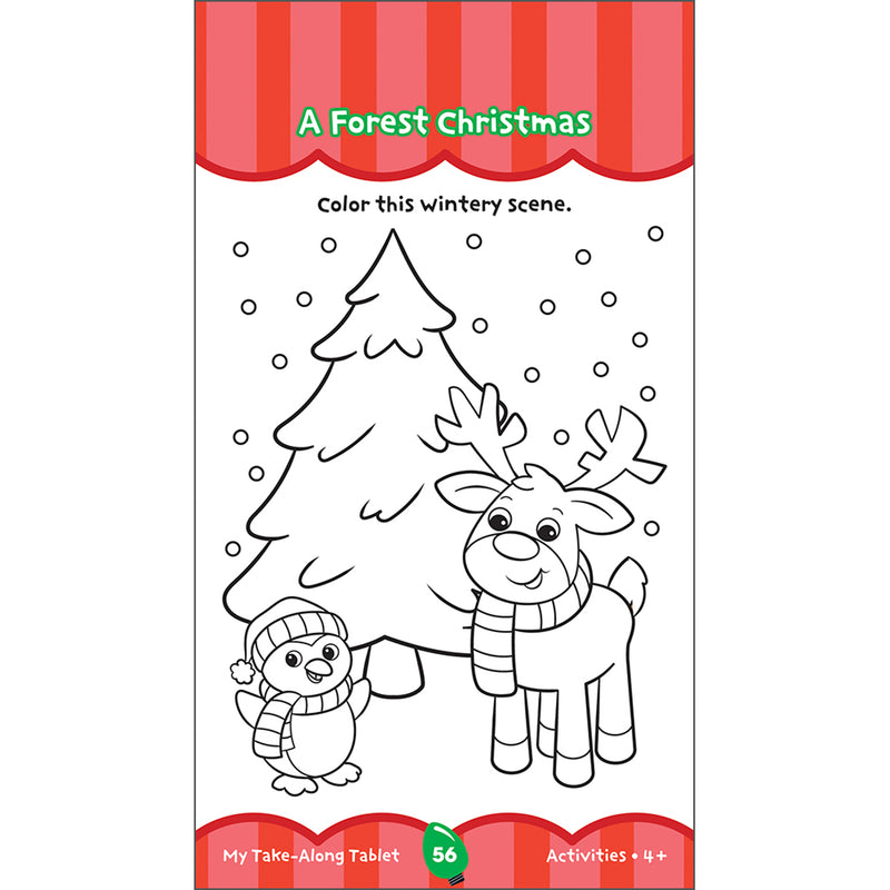 (6 Ea) Holiday Activities Ages 4 - 5 My Take-along Tablet