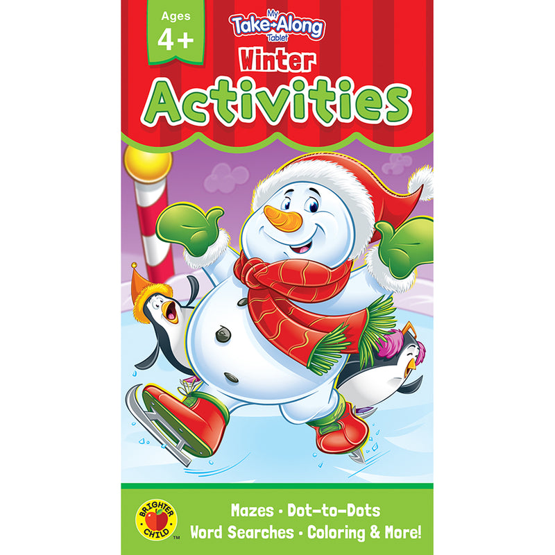 (6 Ea) Winter Activities Ages 4 - 5 My Take-along Tablet