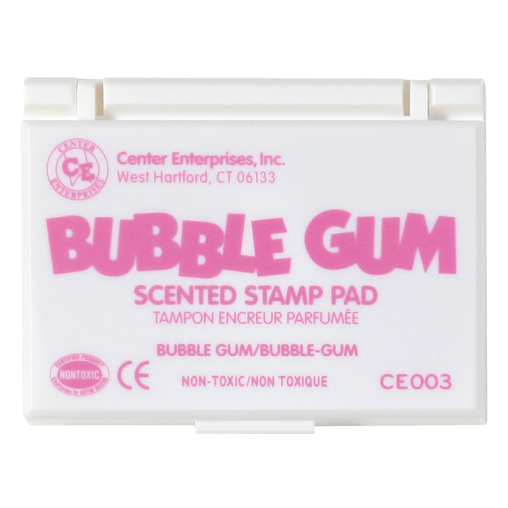 (6 Ea) Stamp Pad Scented Bubble Gum Pink