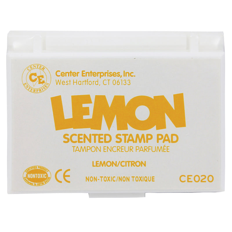 (6 Ea) Stamp Pad Scented Lemon Ylw