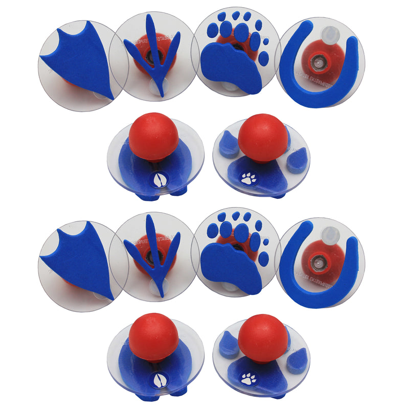 (2 Ea) Ready2learn Giant Paw-prints Stampers