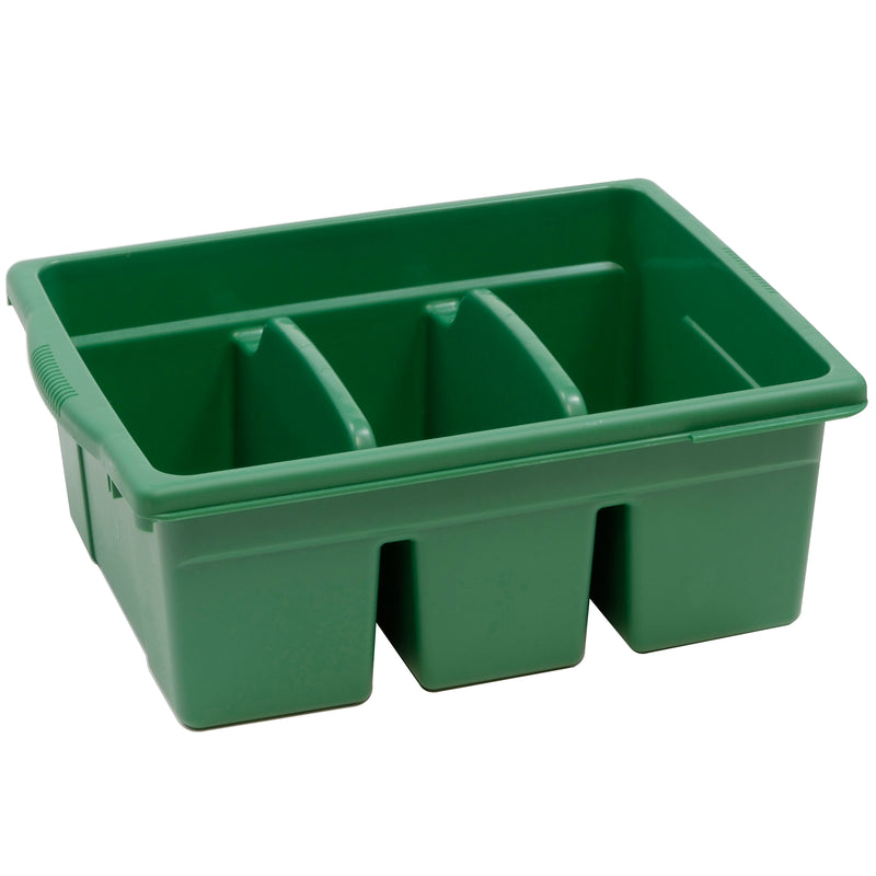 Leveled Reading Green Large Divided Book Tub