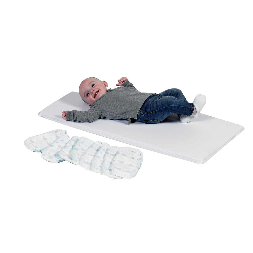 Infection Contrl White Changing Pad Single