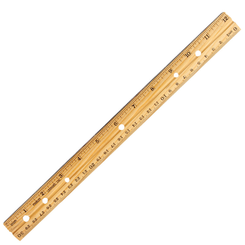 (36 Ea) Economy Wood Ruler