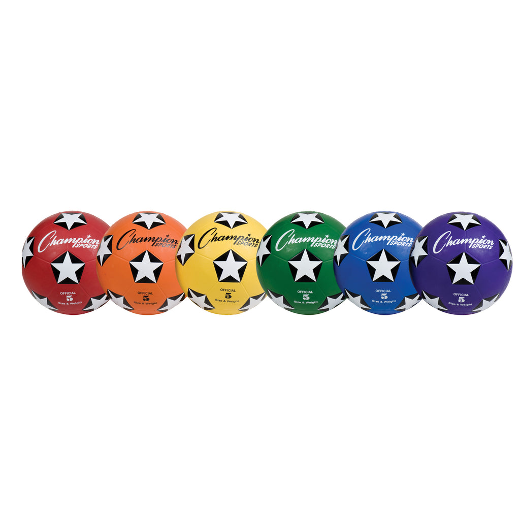 Soccer Ball Set-6 Rubber Size 5