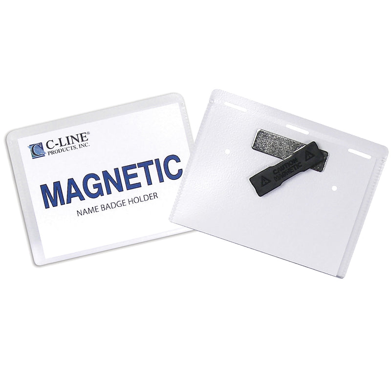 Magnetic Style Name Badge Kit 20-bx