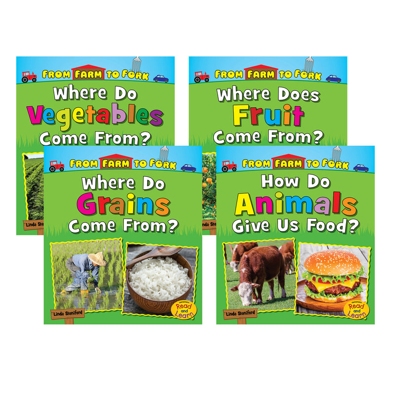 4 Bk Set Farm To Fork Where Does My Food Come From