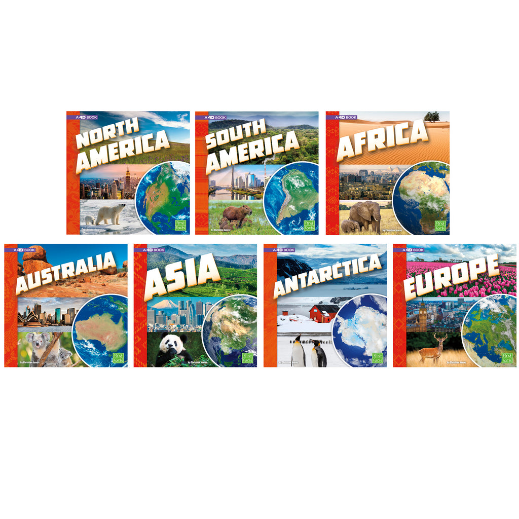 Investigating Continents Books 7-st