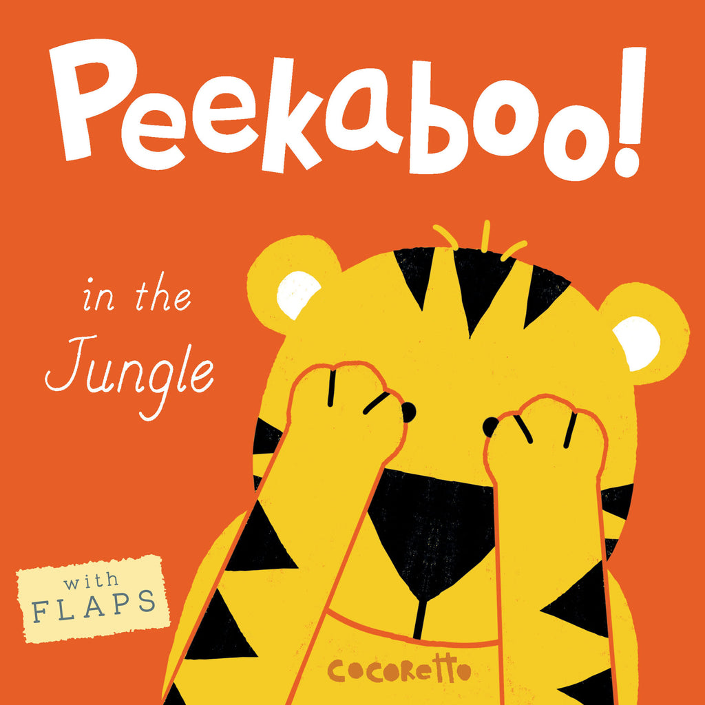 Peekaboo Board Books In The Jungle