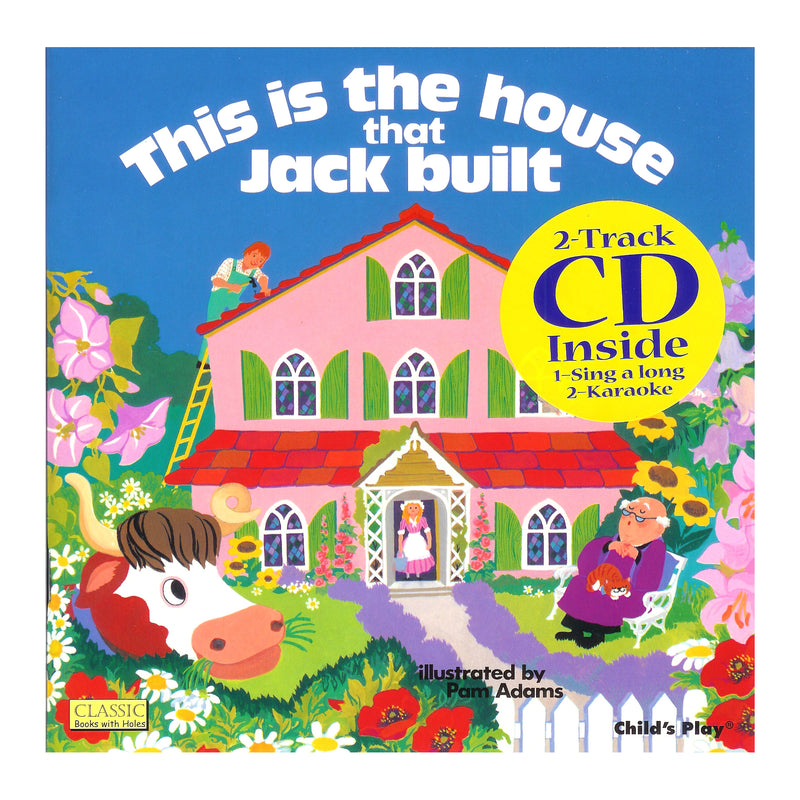 House That Jack Built 8x8 Book With Cd