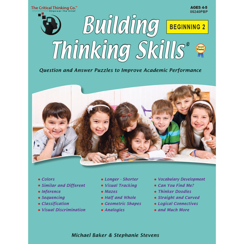 Build Think Skills Begin 2 Gr Prek