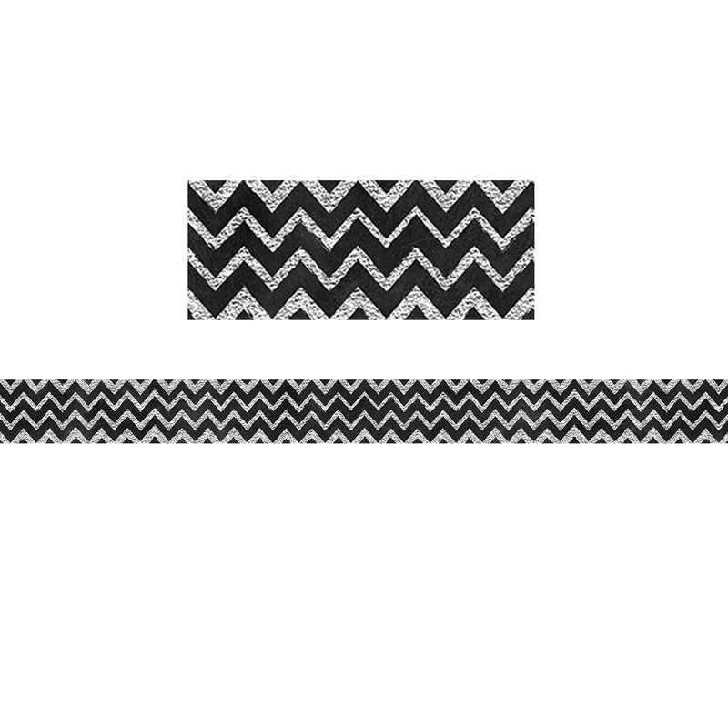 (6 Pk) Chalk It Up Chevron Border