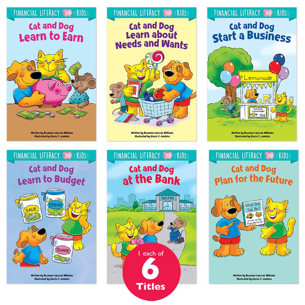 Financial Literacy Book Set 6 Books