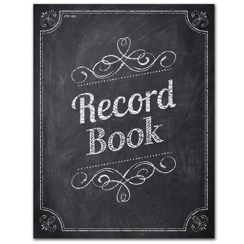 (3 Ea) Chalk It Up Record Book