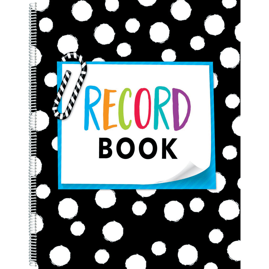 (3 Ea) Bold And Bright Record Book
