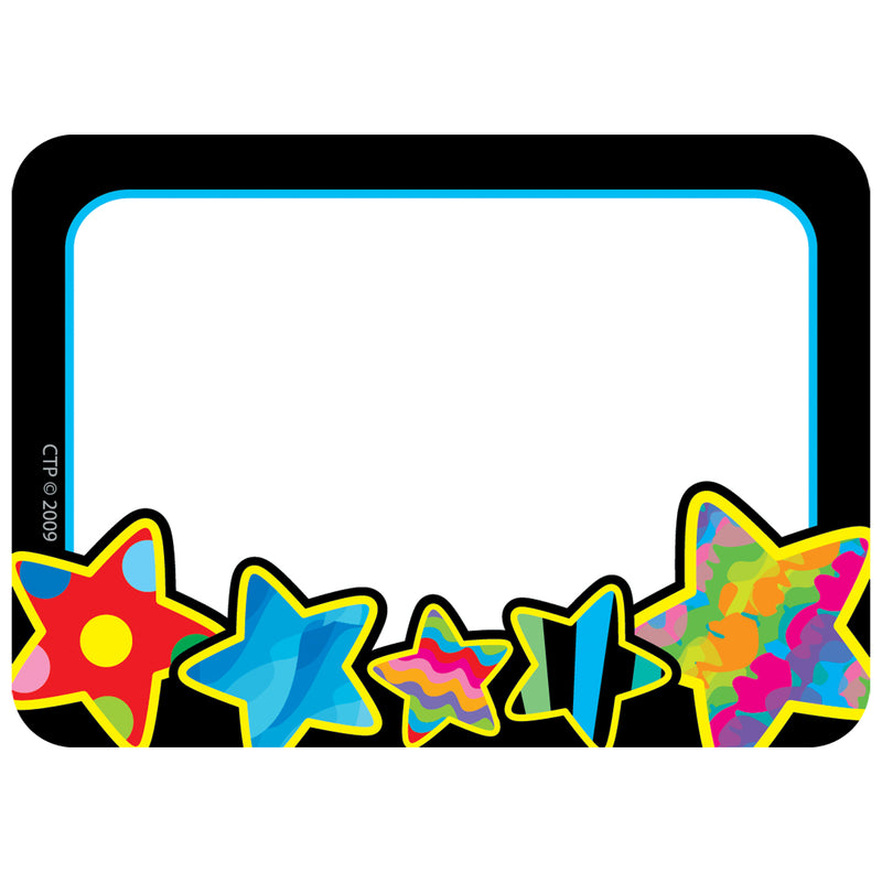 (6 Pk) Poppin Patterns Stars Name Tags