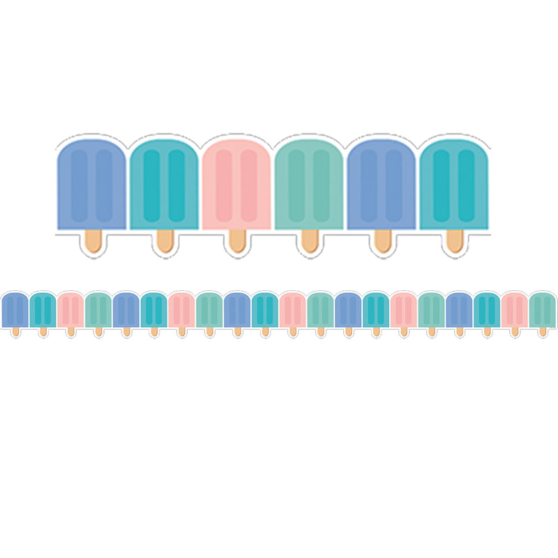 Calm & Cool Ice Pops Border