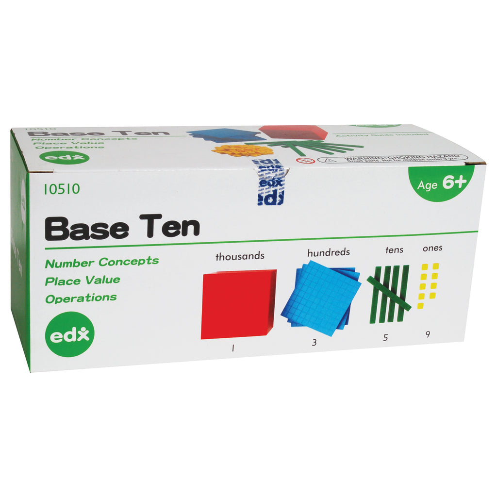 Plastic Base Ten Kit