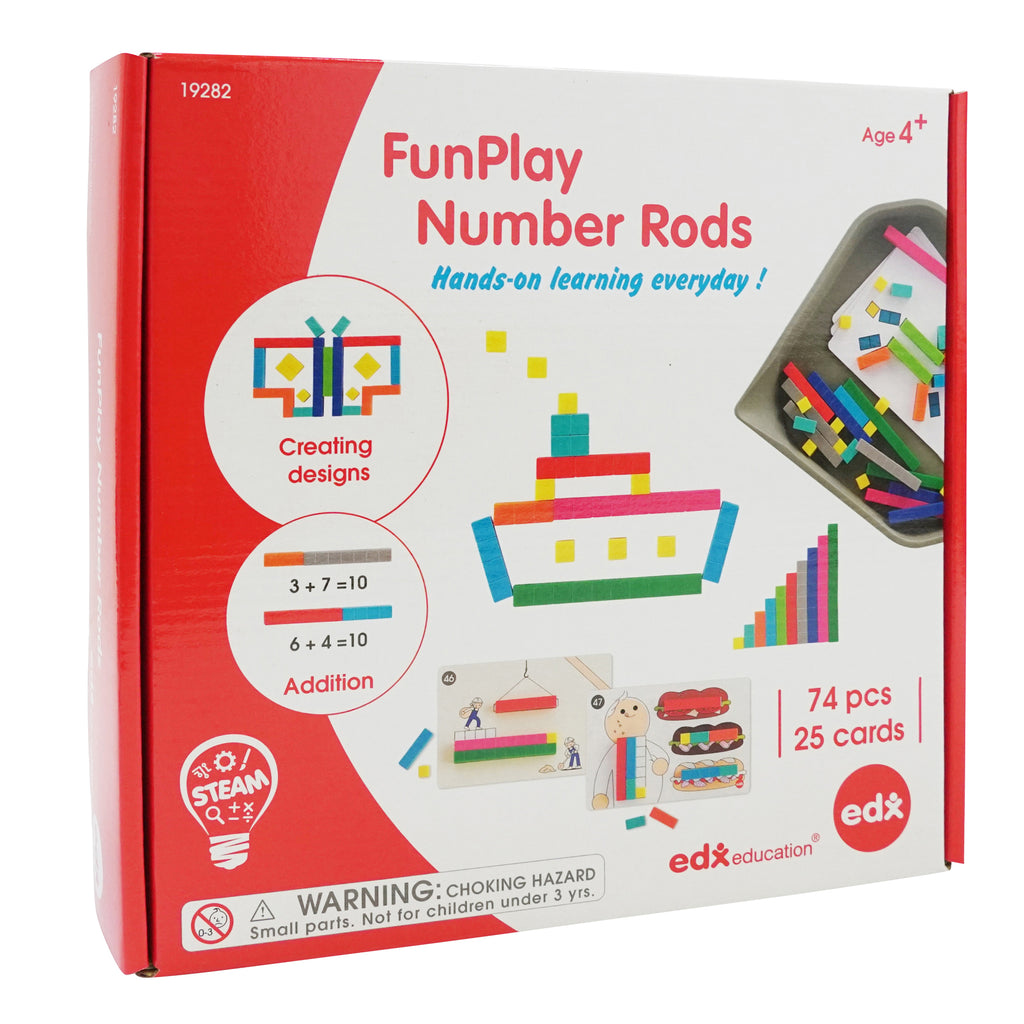 Funplay Number Rods