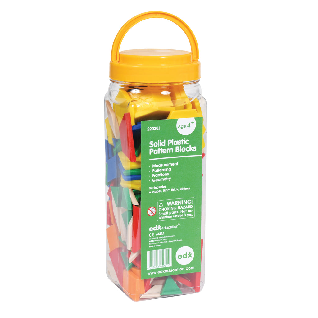 Pattern Blocks Plastic