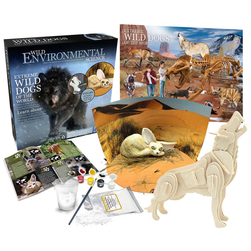 Extrme Science Kit Wild Dogs Of The World Wild Science