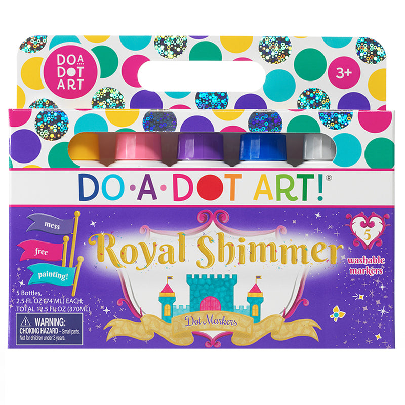 Do A Dot Art Shimmers 5 Pk Washable