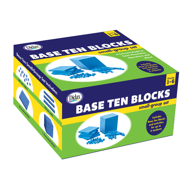 Base Ten Blocks Small Group Set