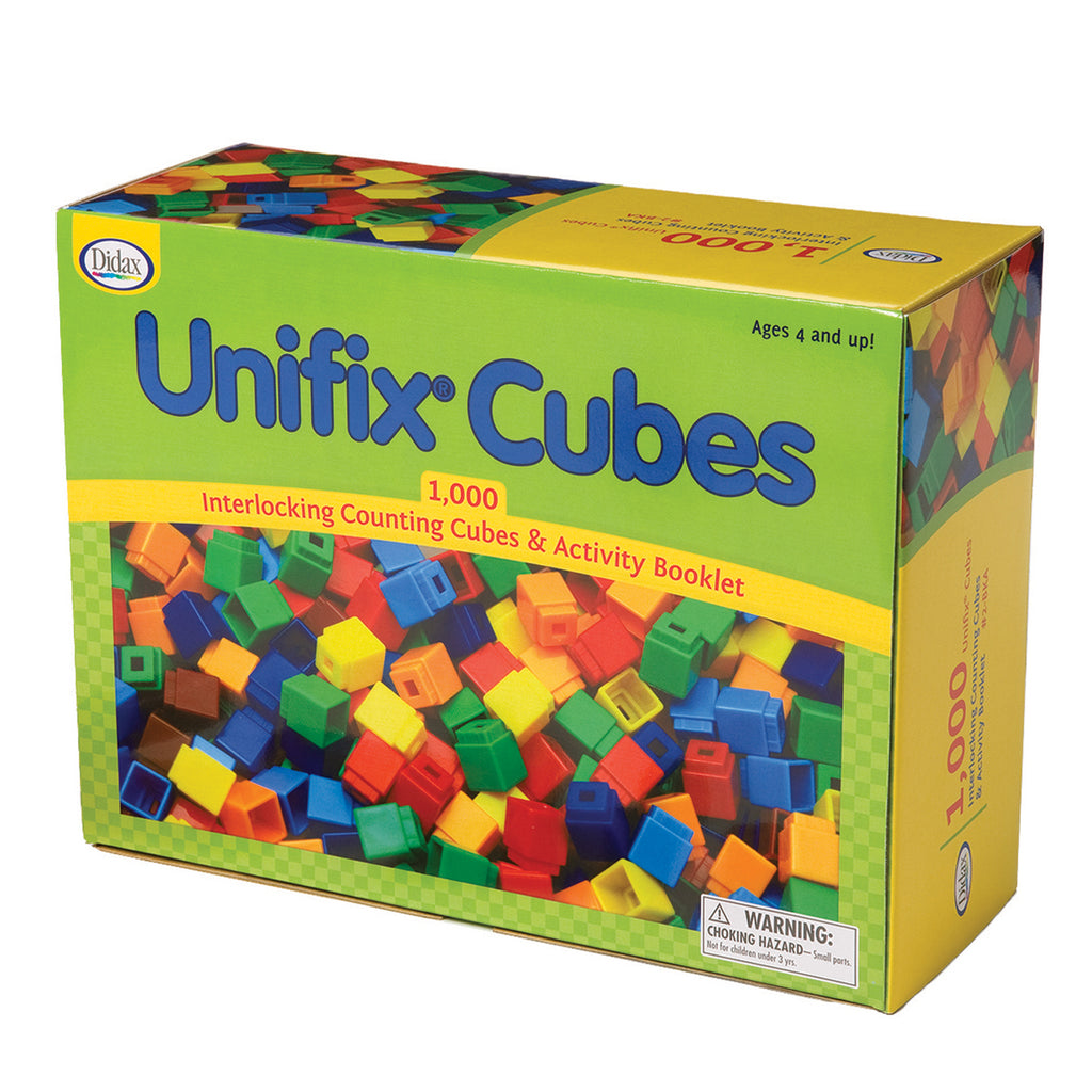 Unifix Cubes 1000 Asstd Colors