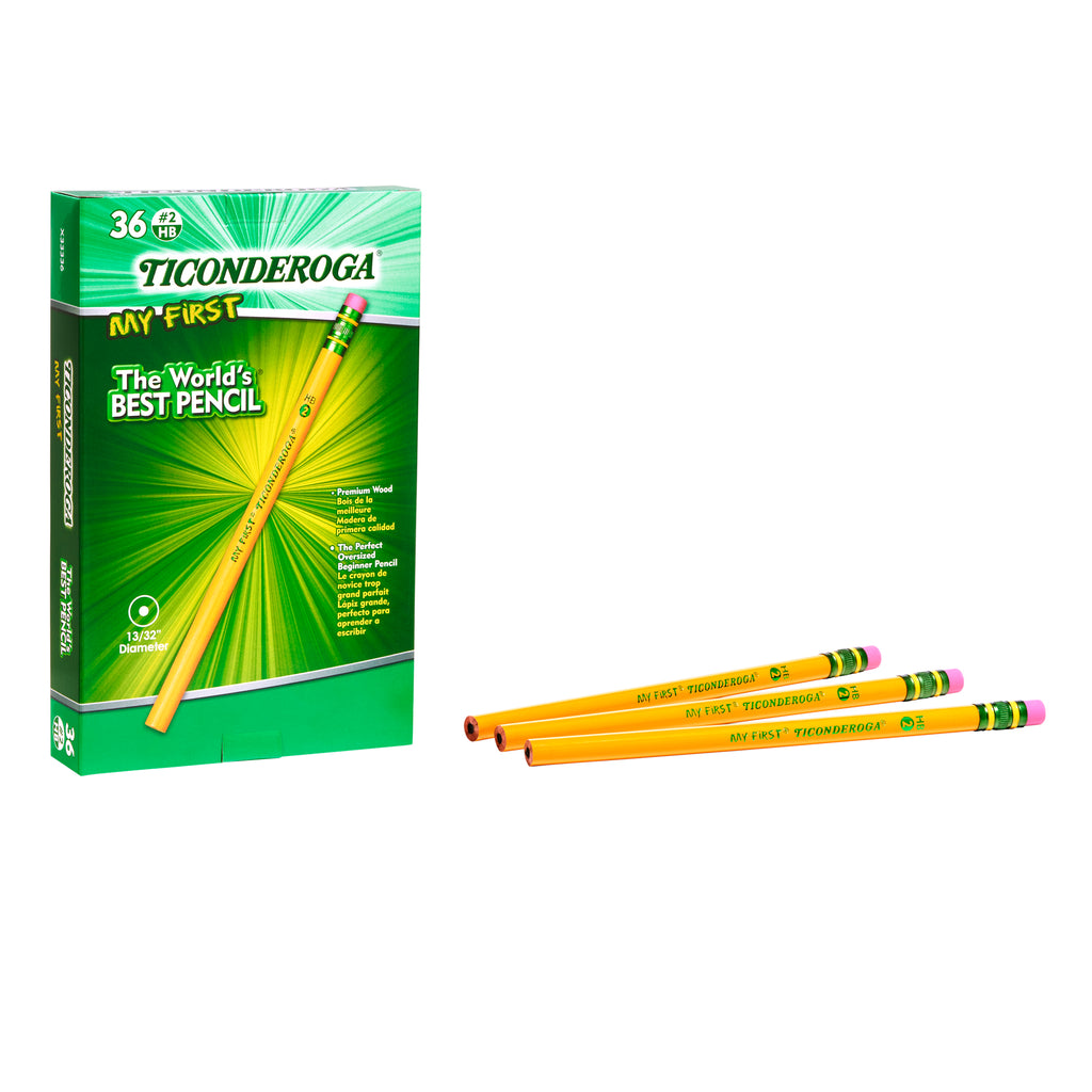 Ticonderoga Pencil 36 Ct W-eraser