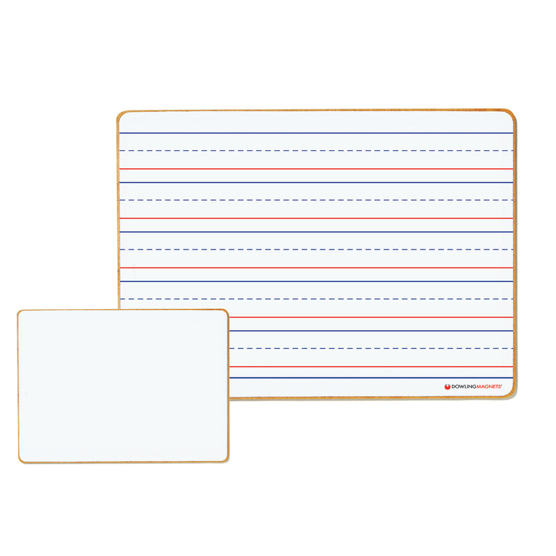 (6 Ea) Magnetic Dry-erase Lined & Blank Board