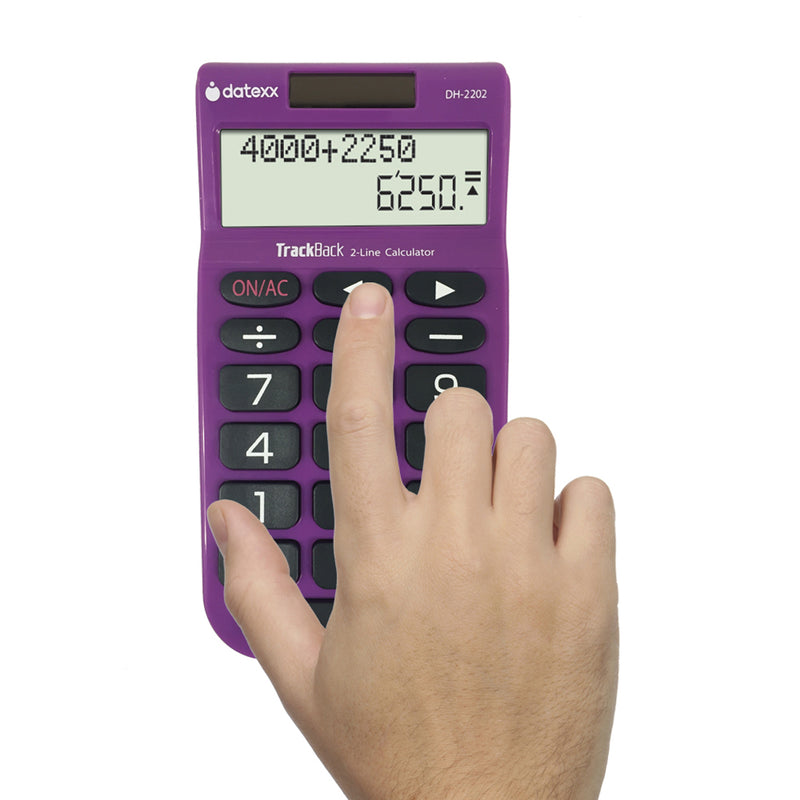 (3 Ea) 2line Trackback Handheld Calculator