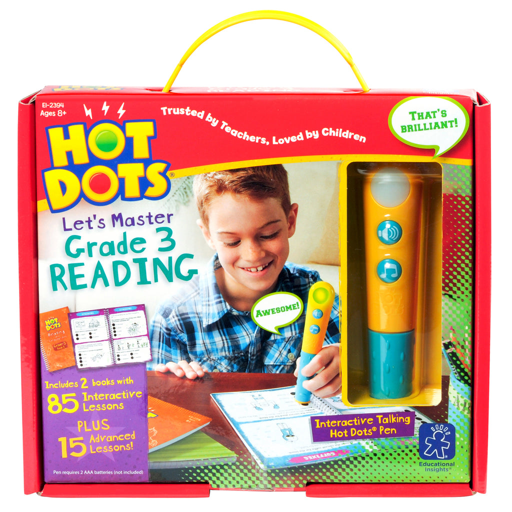 Hot Dots Jr Lets Master Reading Gr 3