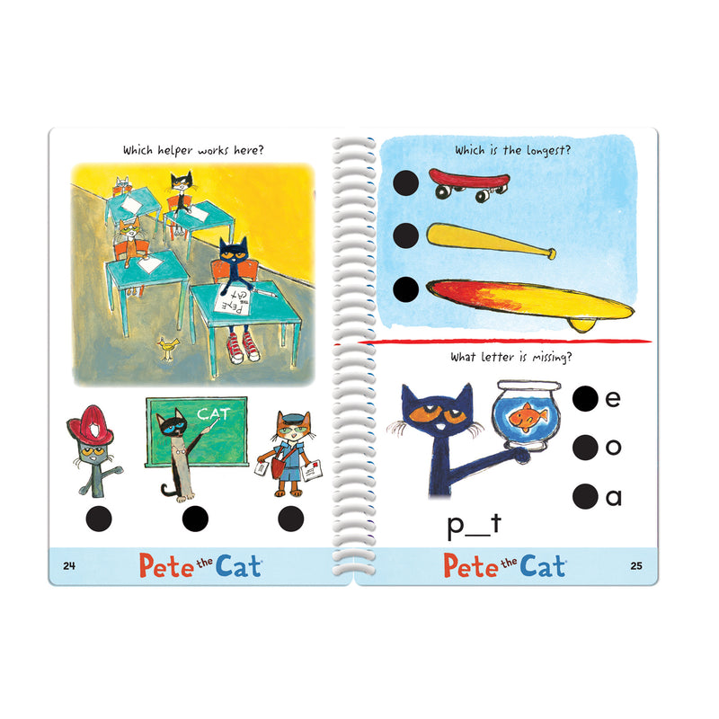 Hot Dots Jr Pete The Cat I Love Kindergarten Set & Pen