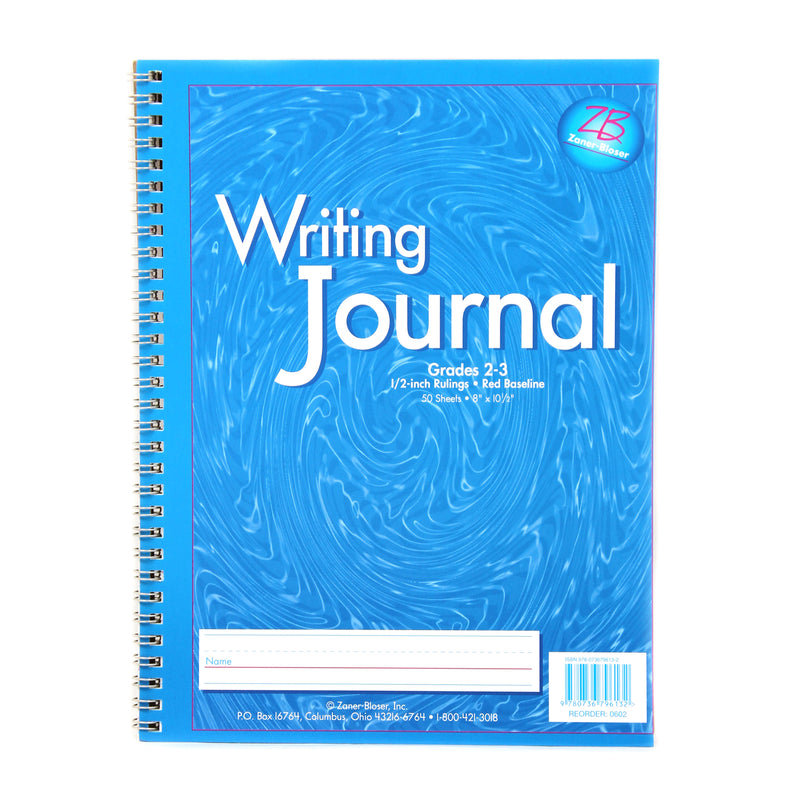 (6 Ea) My Writing Journal Blue Gr 2-3