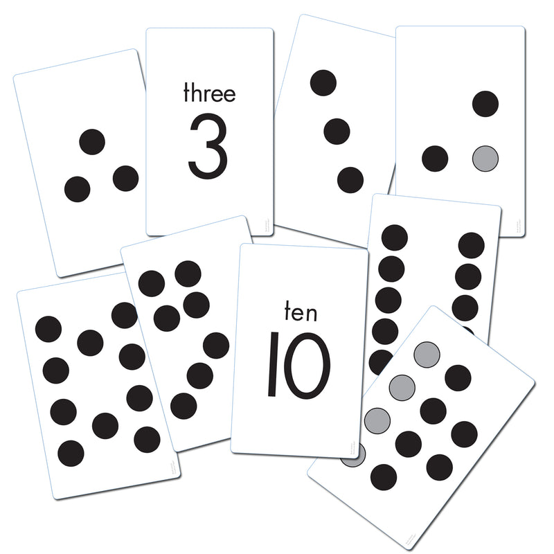 (3 Pk) Subitizing Activity Cards Gr K-1 38 Cards Per Pk