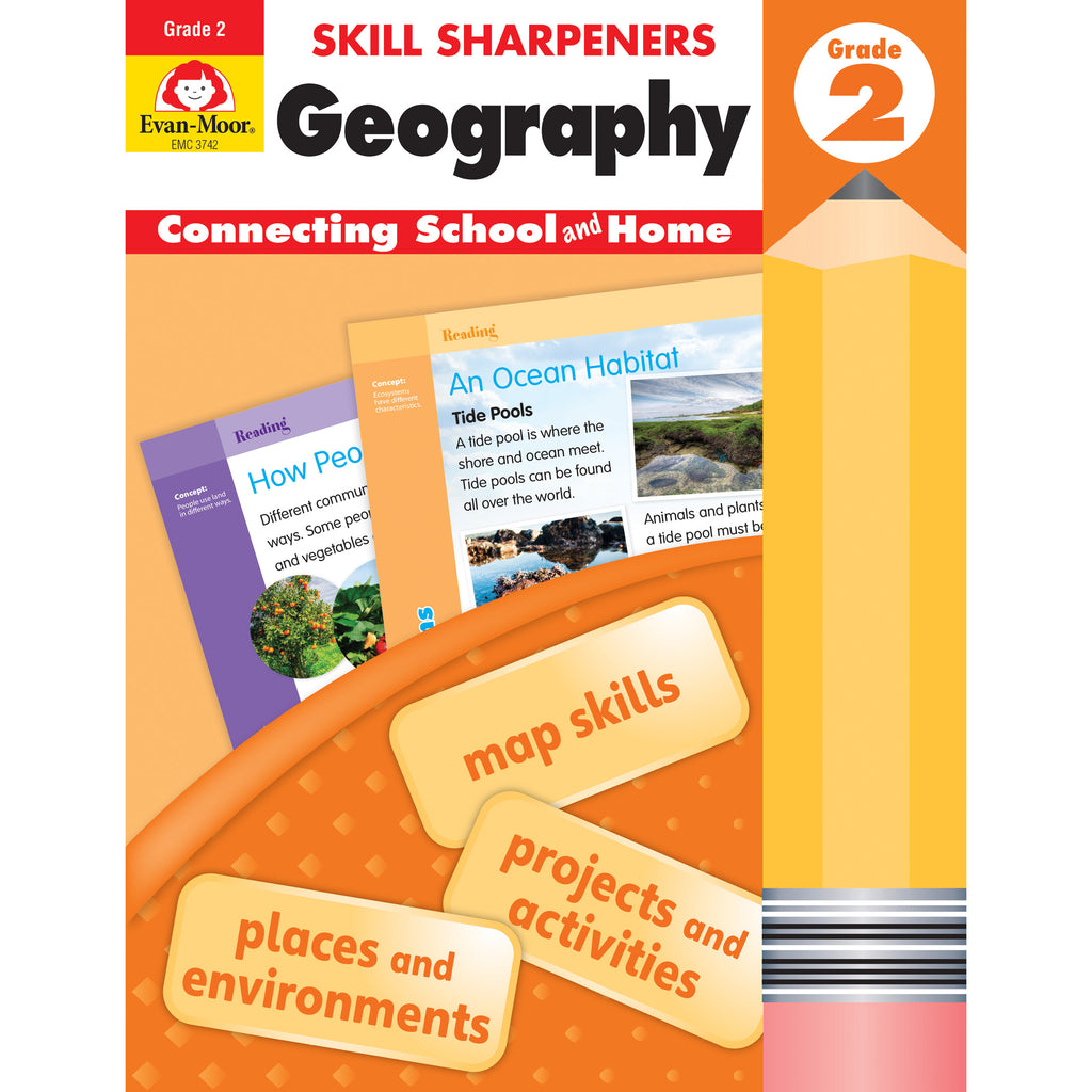 Skill Sharpeners Geography Gr 2