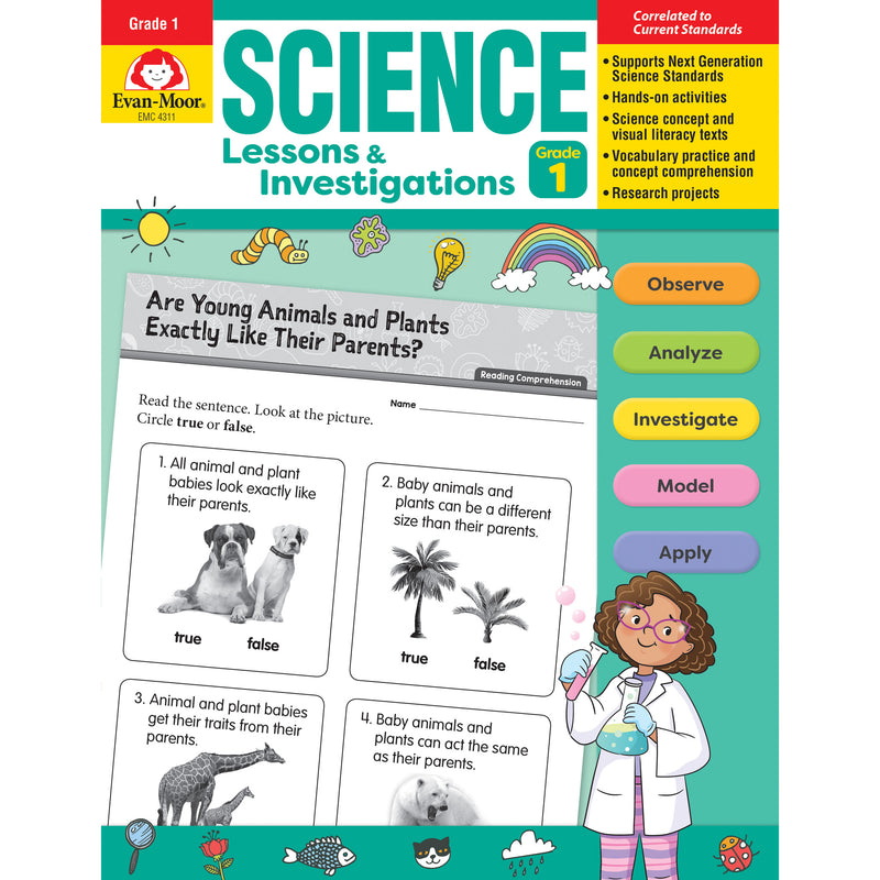 Science Lssns & Investigations Gr 1
