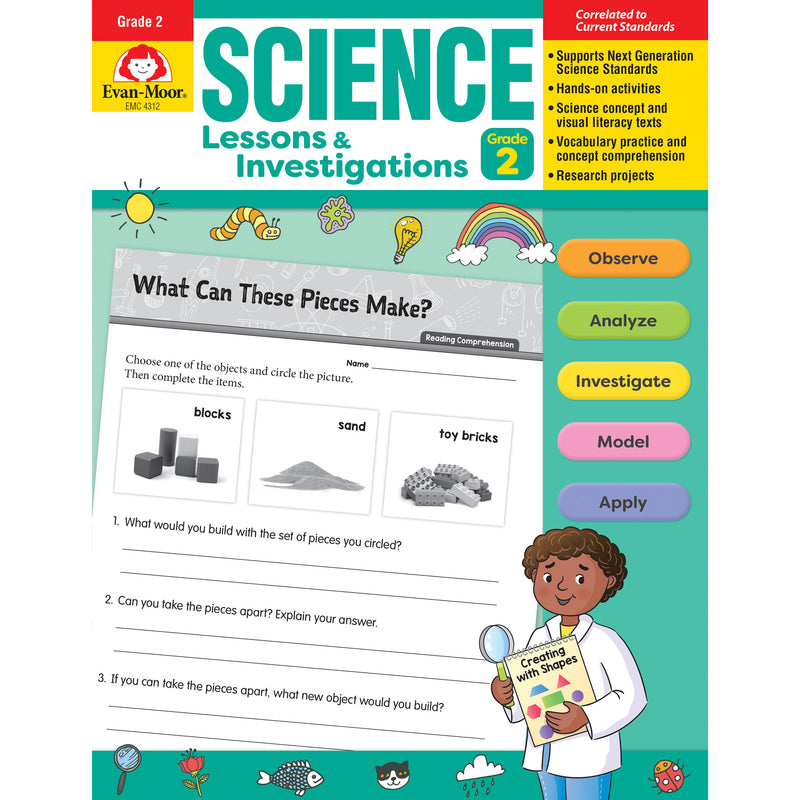 Science Lssns & Investigations Gr 2
