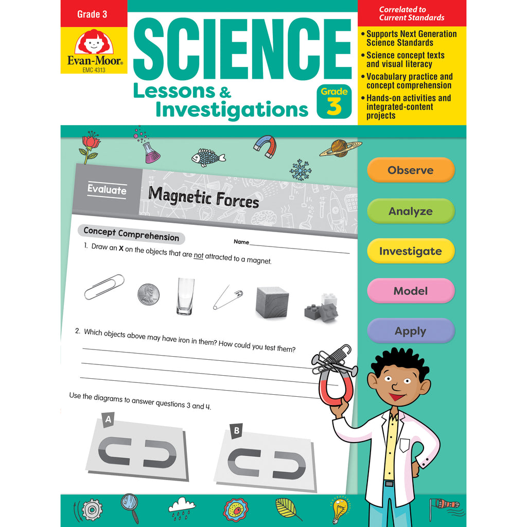 Science Lssns & Investigations Gr 3