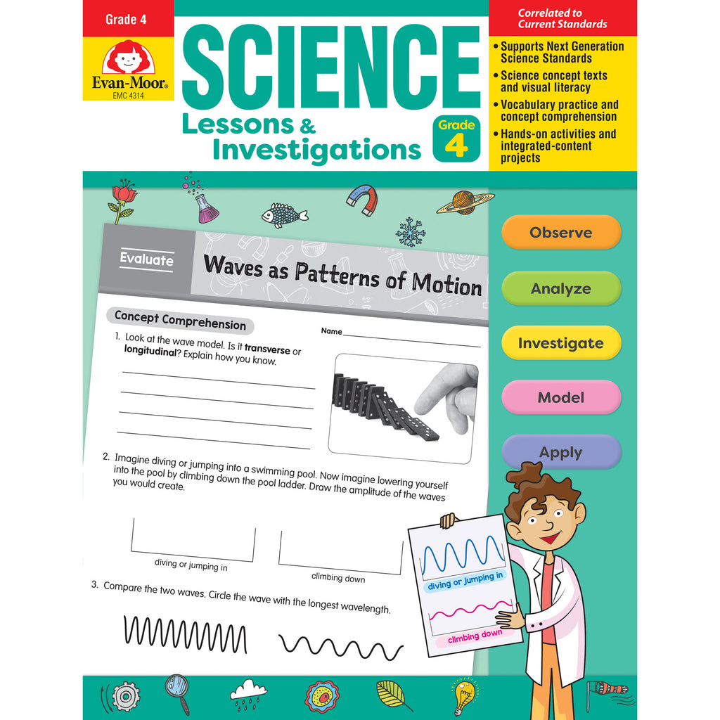 Science Lssns & Investigations Gr 4