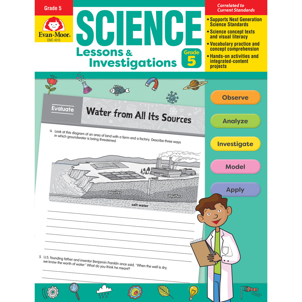 Science Lssns & Investigations Gr 5
