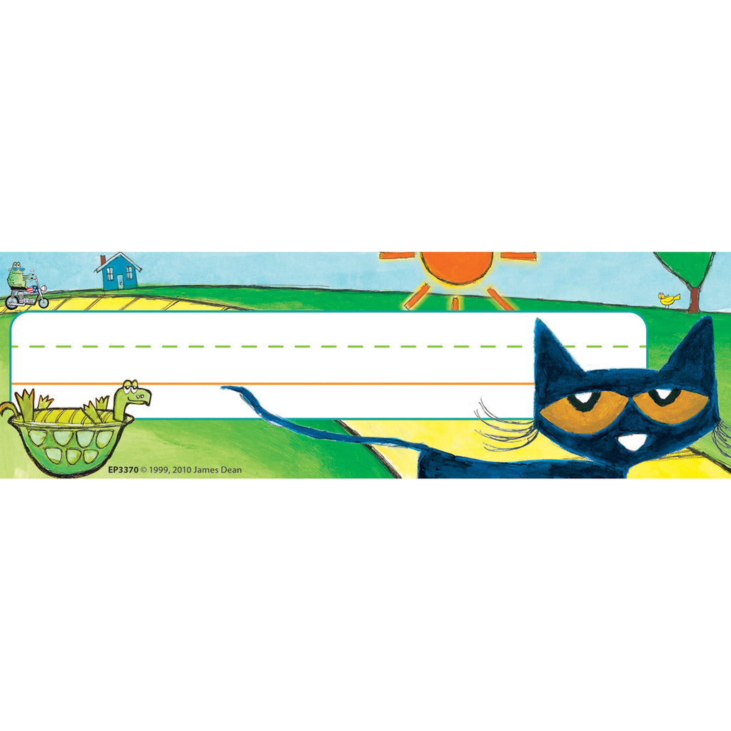 (6 Pk) Pete The Cat Nameplates