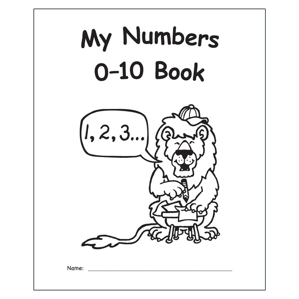 My Own Books My Numbers 0-10 Book