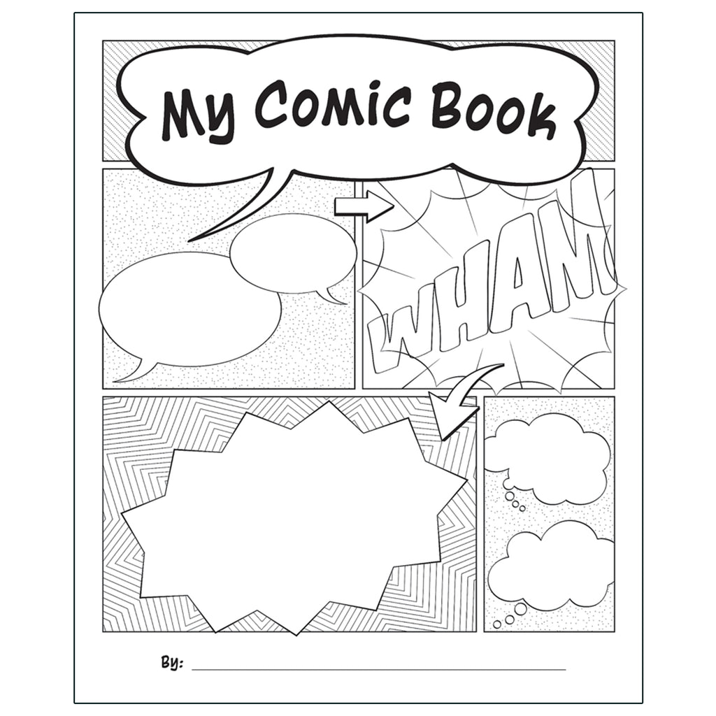 My Own Books: My Comic Book